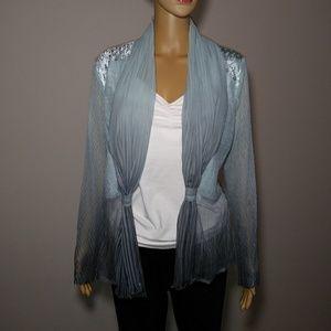 Komarov Women's Feminine Flowy Jacket Size L